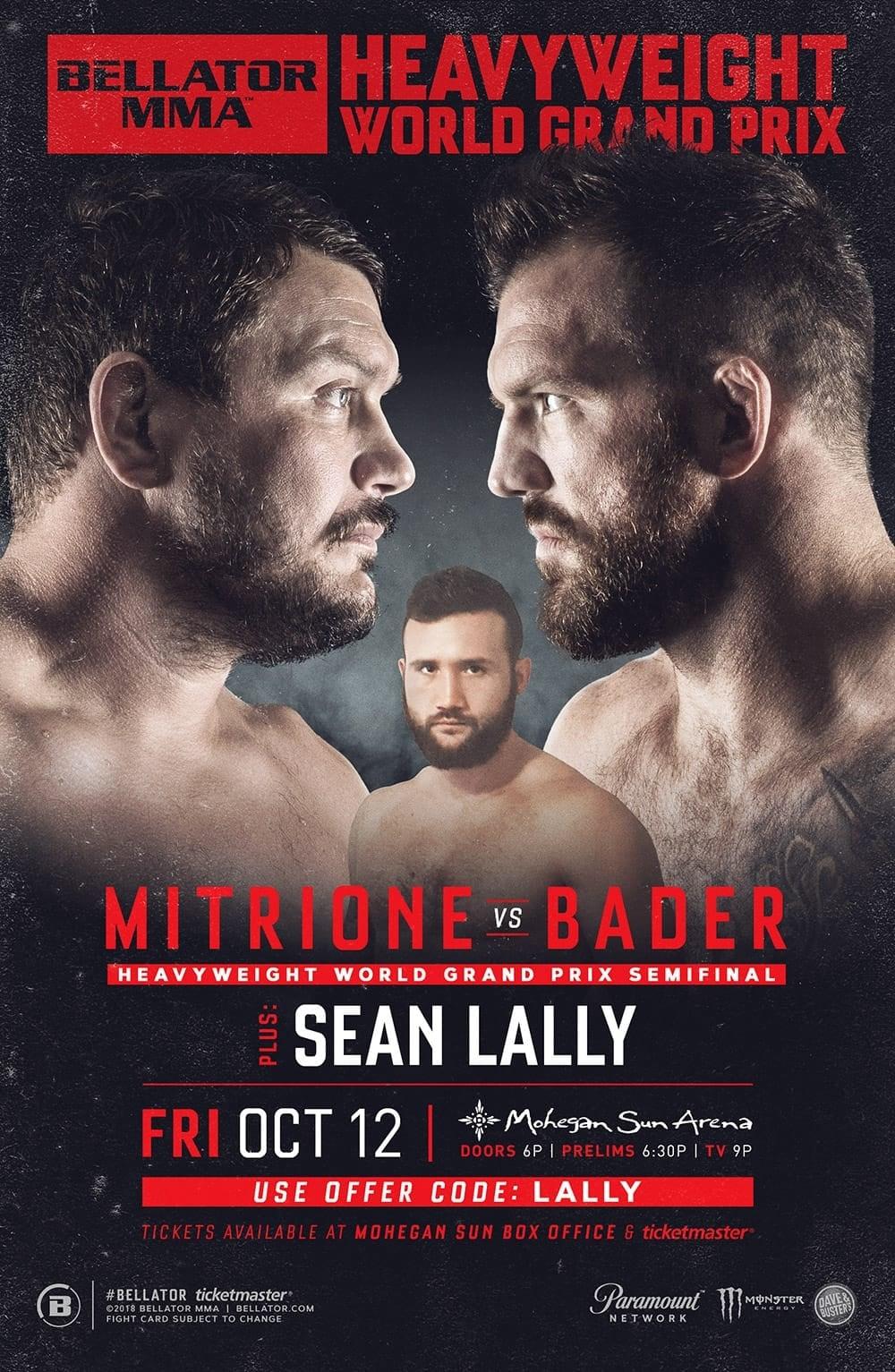 Bellator 207: Mitrione vs. Bader
