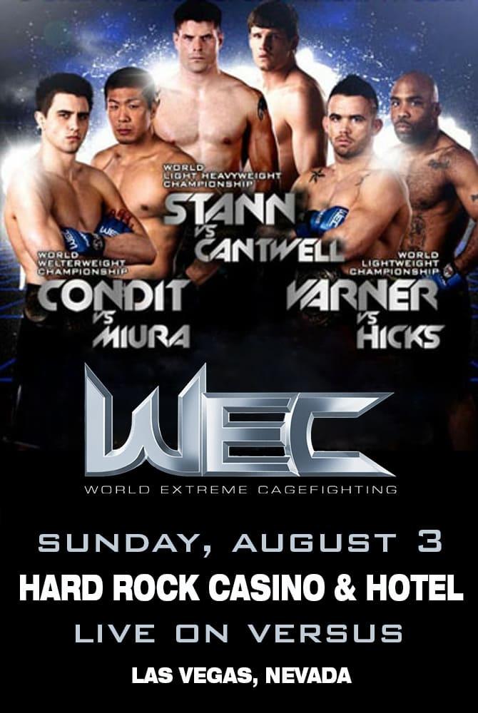 WEC 35: Condit vs. Miura
