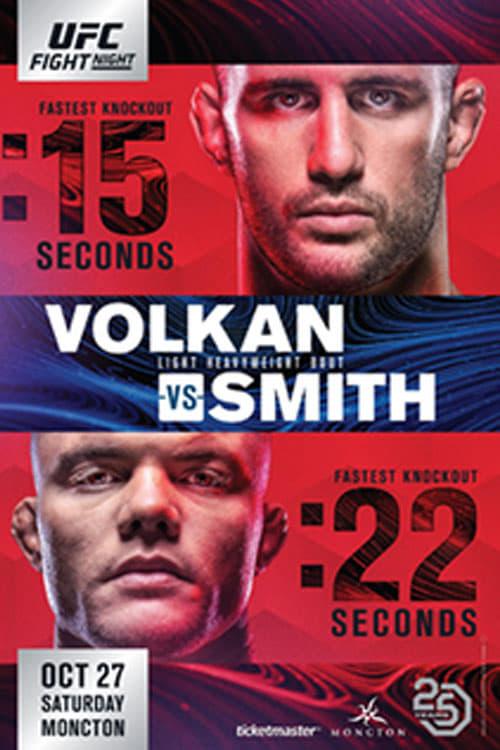 UFC Fight Night 138: Volkan vs. Smith