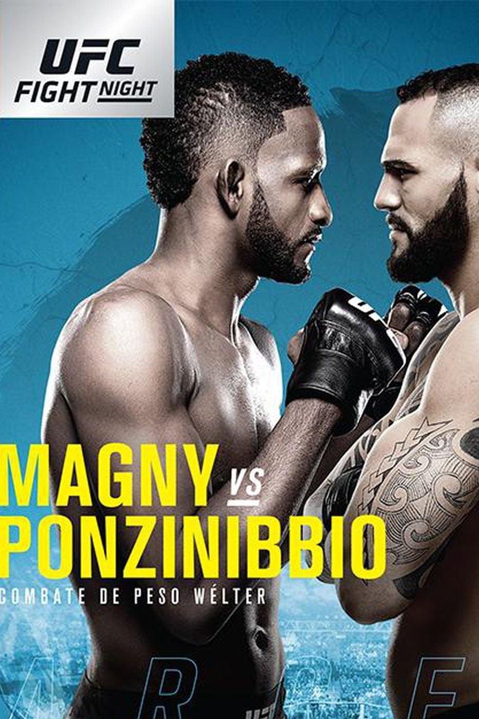 UFC Fight Night 140: Magny vs. Ponzinibbio