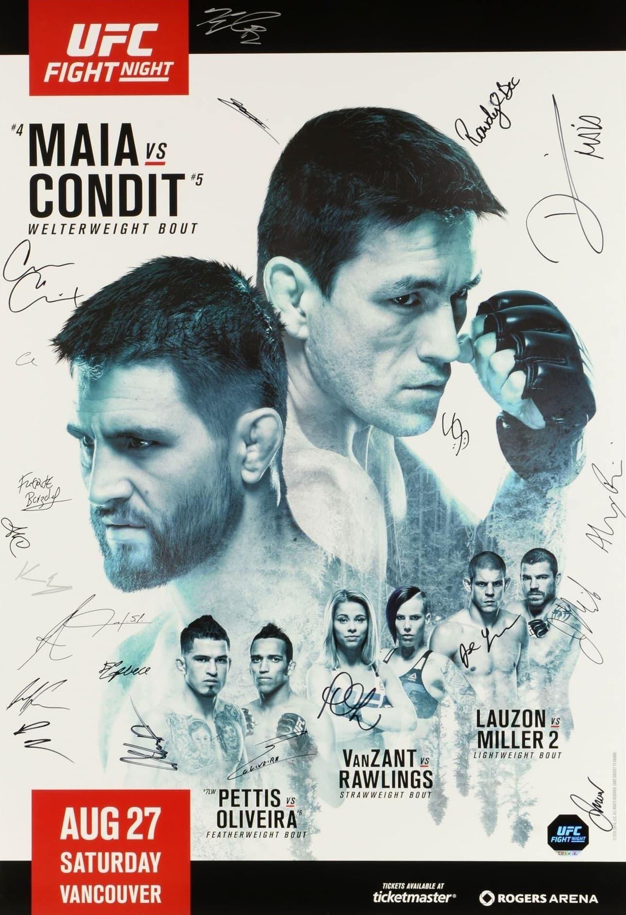 UFC on Fox 21: Maia vs. Condit
