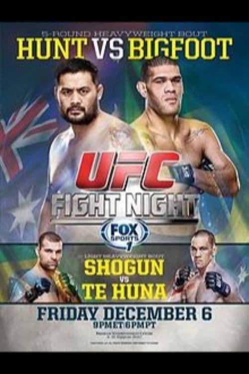 UFC Fight Night 33: Hunt vs. Bigfoot