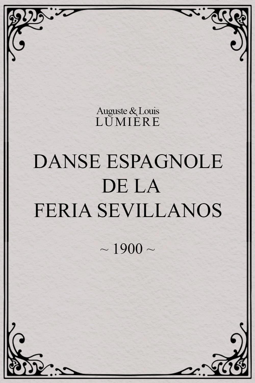 Danse espagnole de la Feria Sevillanos