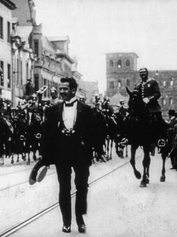 Blumenkorso 1914