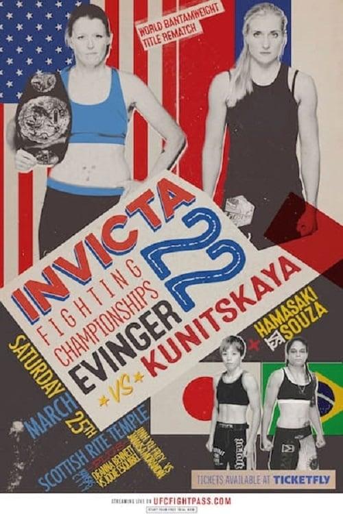 Invicta FC 22: Evinger vs. Kunitskaya II