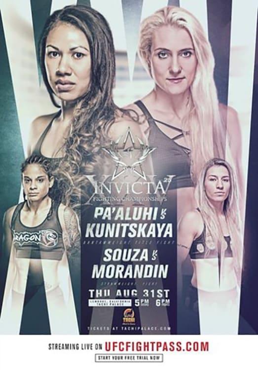 Invicta FC 25: Kunitskaya vs. Pa'aluhi
