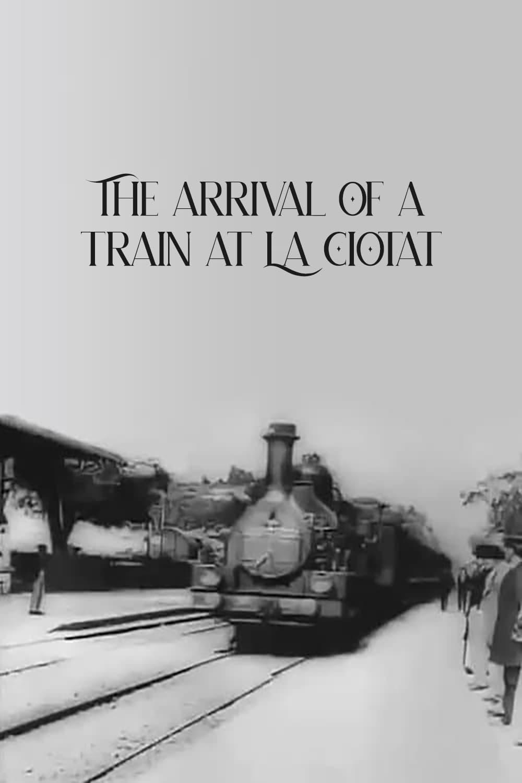 Llegada de un tren a la estación de la Ciotat