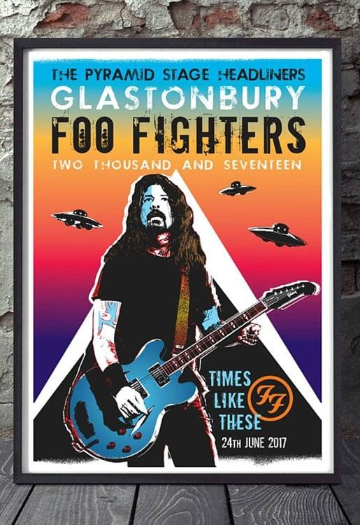 Foo Fighters: Live at Glastonbury 2017