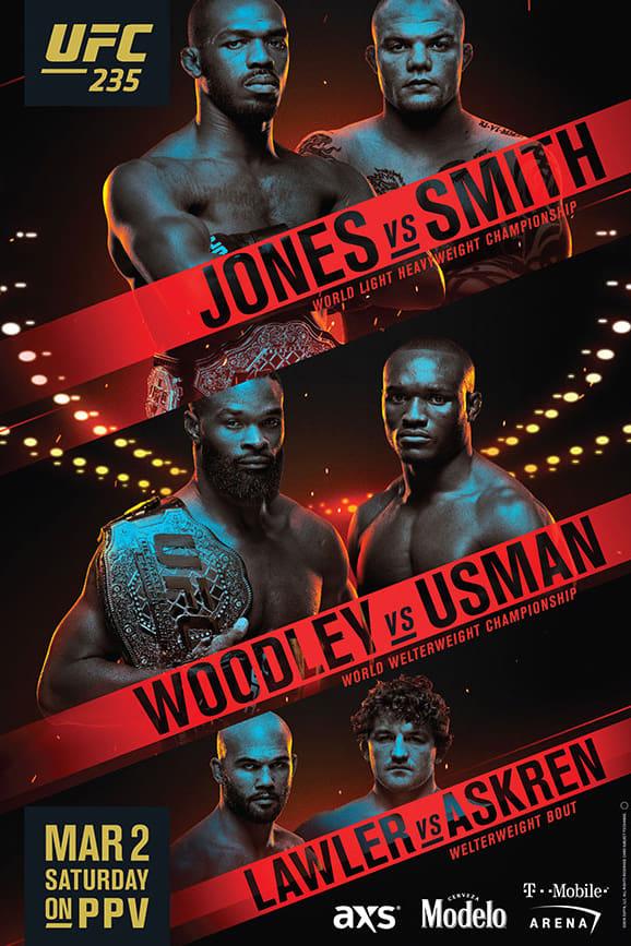 UFC 235: Jones vs. Smith