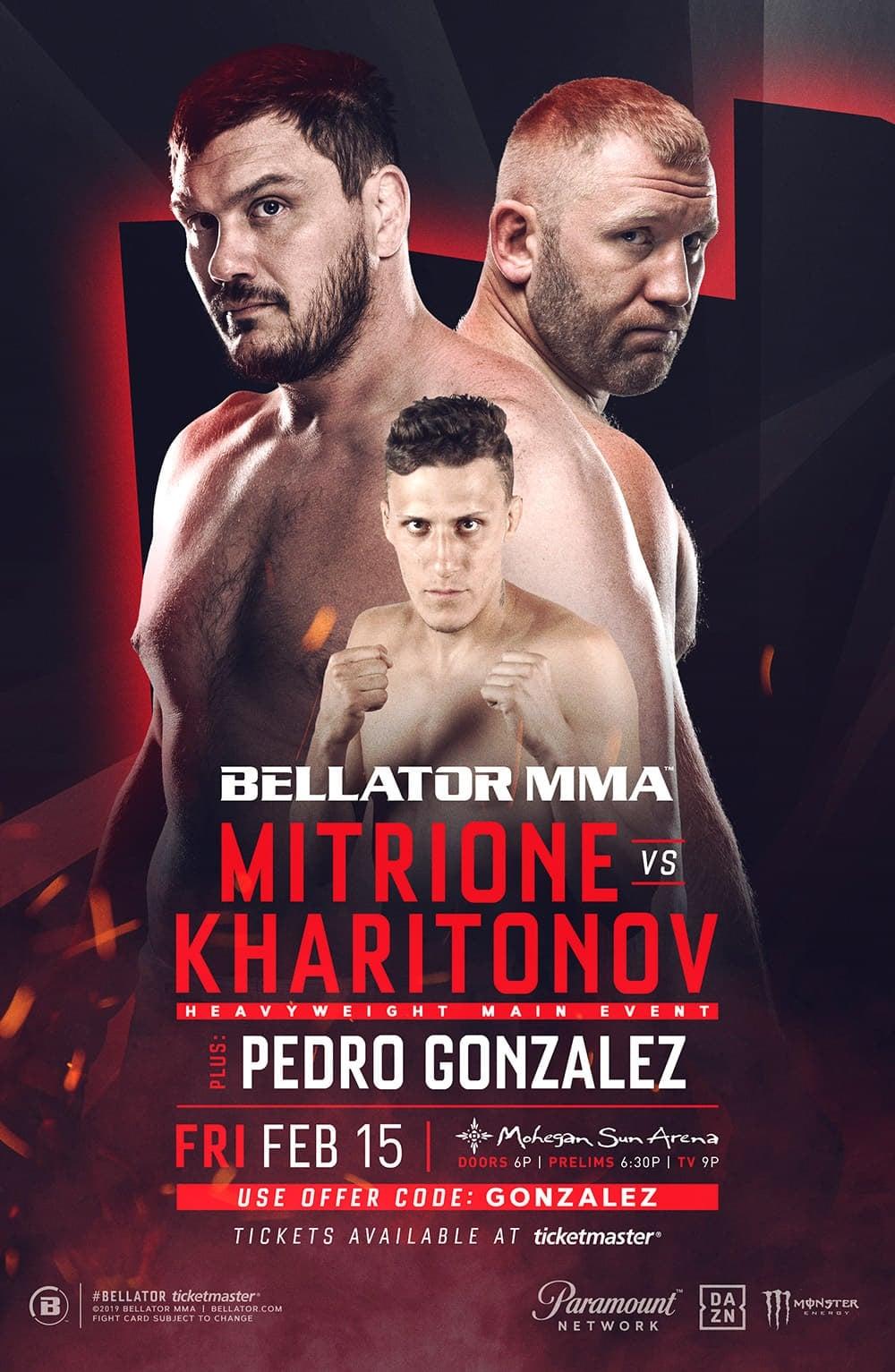 Bellator 215: Mitrione vs. Kharitonov