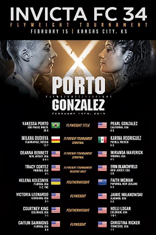 Invicta FC 34: Porto vs. Gonzalez