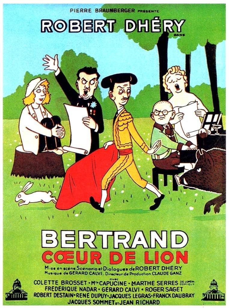 Bertrand coeur de lion