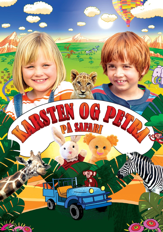 Casper and Emma on Safari
