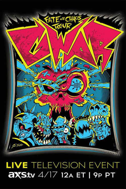 GWAR: Fate or Chaos Tour 2013