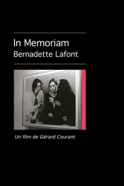 In Memoriam Bernadette Lafont
