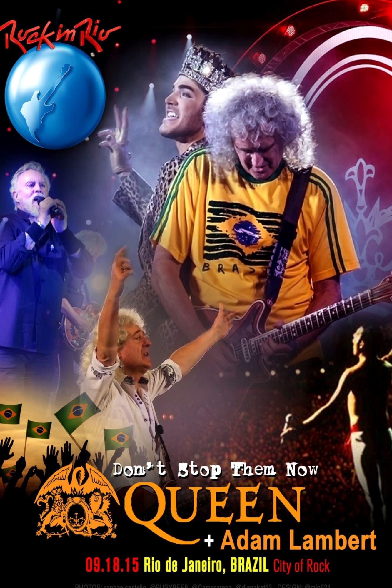 Queen and Adam Lambert: Rock in Rio 2015