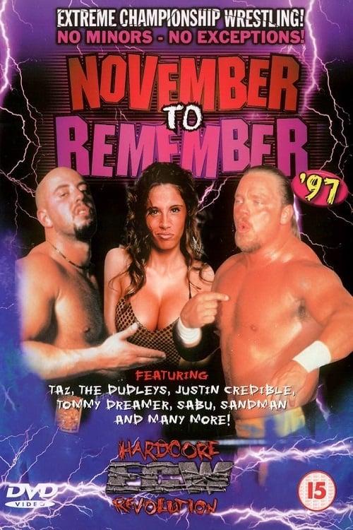 ECW November To Remember 1997
