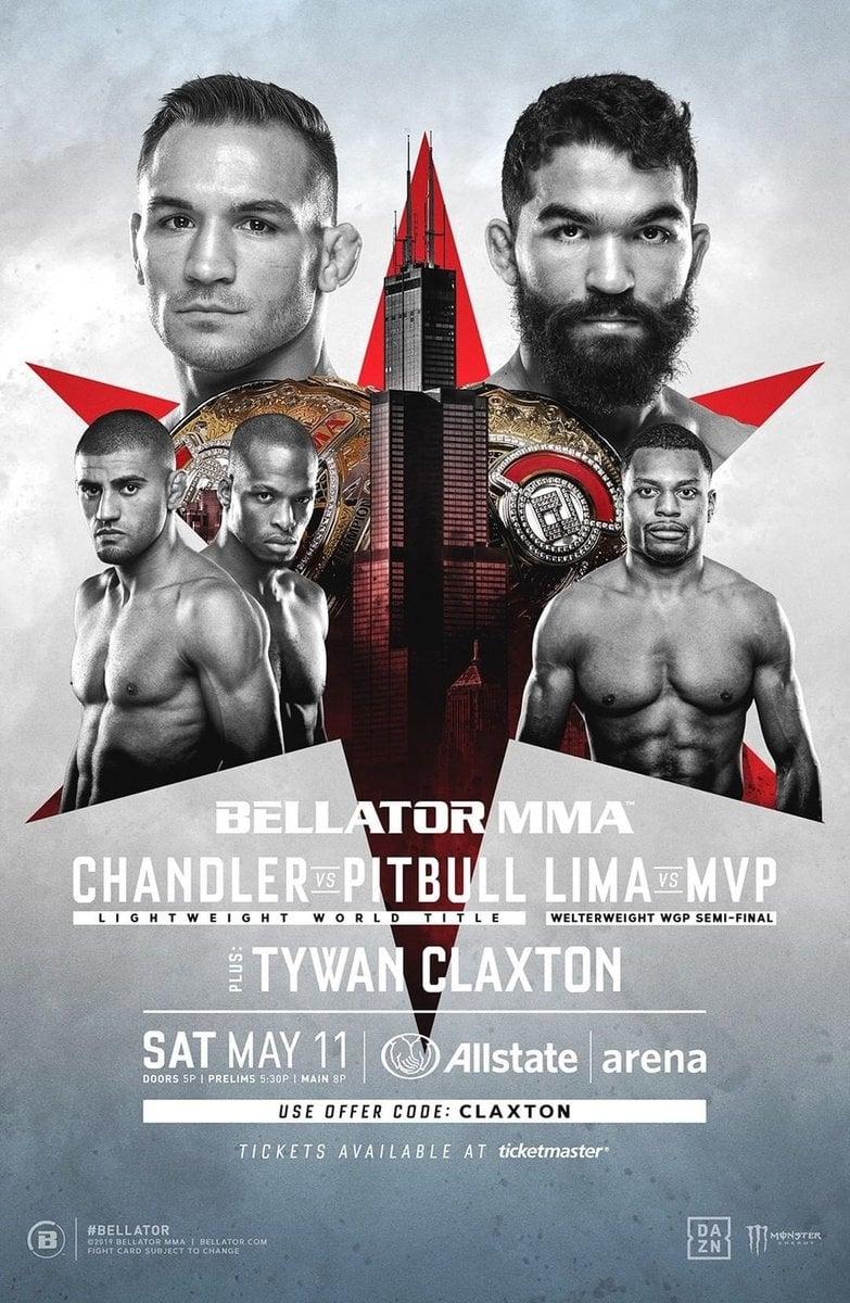 Bellator 221: Chandler vs. Pitbull