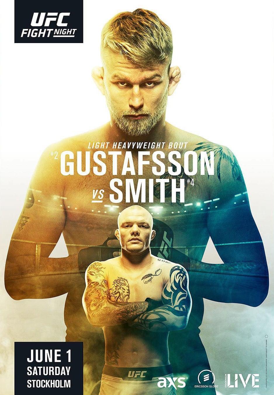 UFC Fight Night 153: Gustafsson vs. Smith