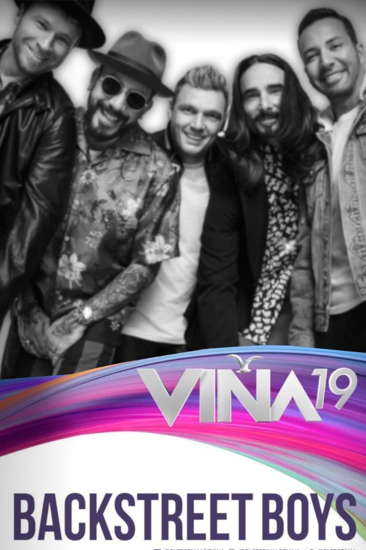 Backstreet Boys: Festival de Viña