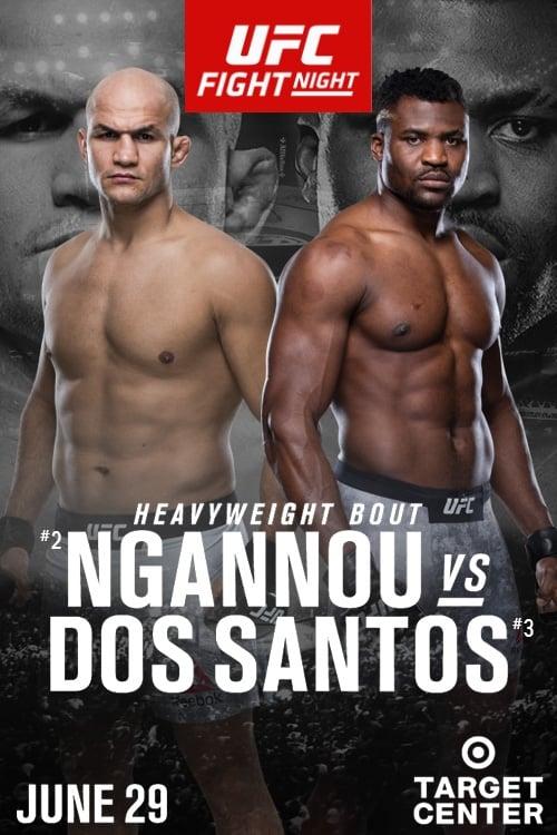 UFC on ESPN 3: Ngannou vs Dos Santos