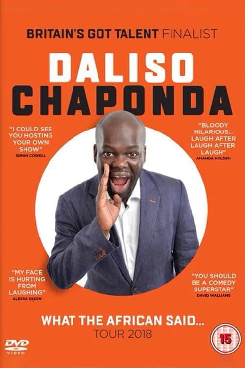 Daliso Chaponda: What The African Said...