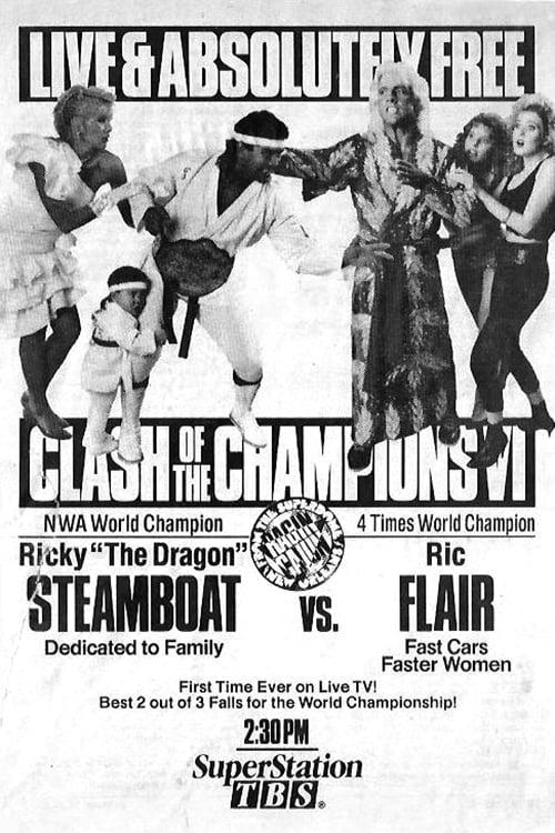 WCW Clash of The Champions VI: Ragin' Cajun