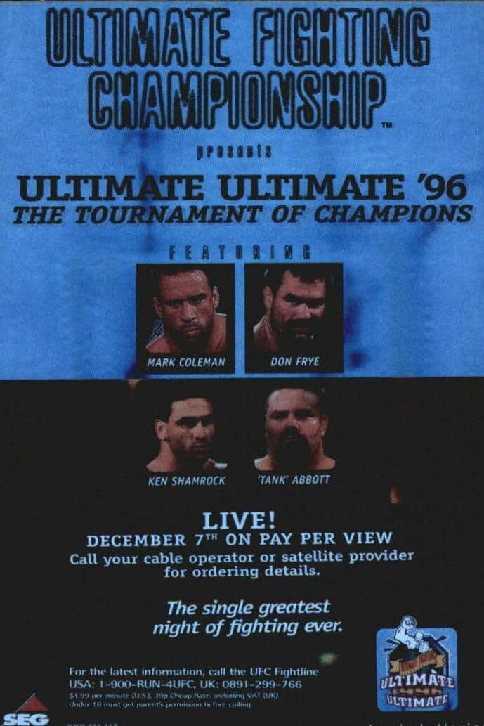UFC 11.5: Ultimate Ultimate 2