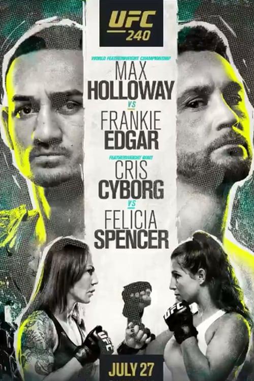 UFC 240: Holloway vs. Edgar
