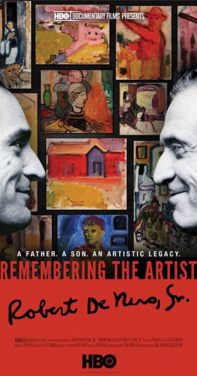 Lembrança do Artista Robert de Niro Sr.