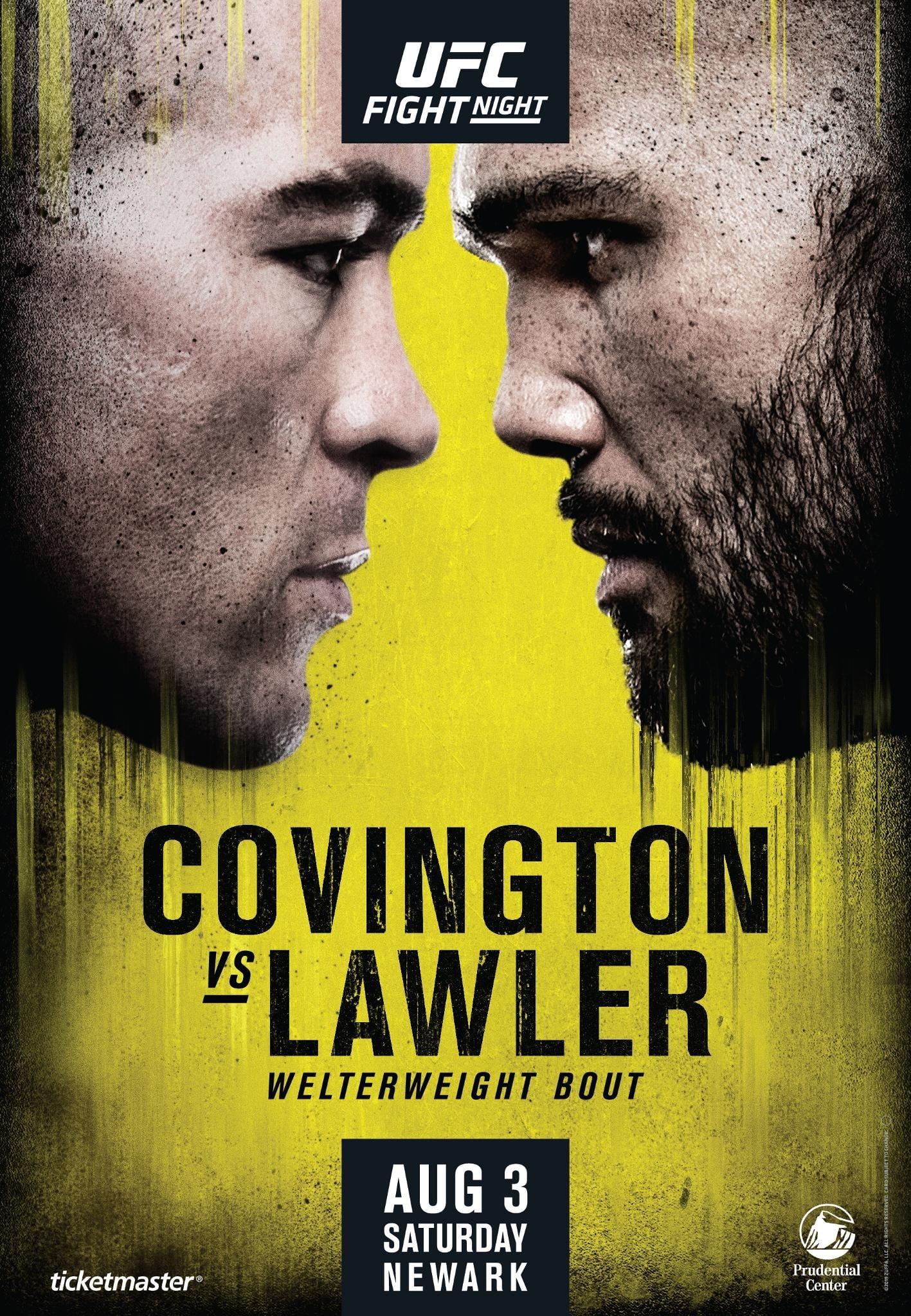 UFC on ESPN 5: Covington vs. Lawler