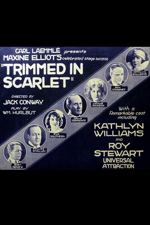 Trimmed in Scarlet
