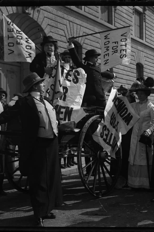 Den moderna suffragetten