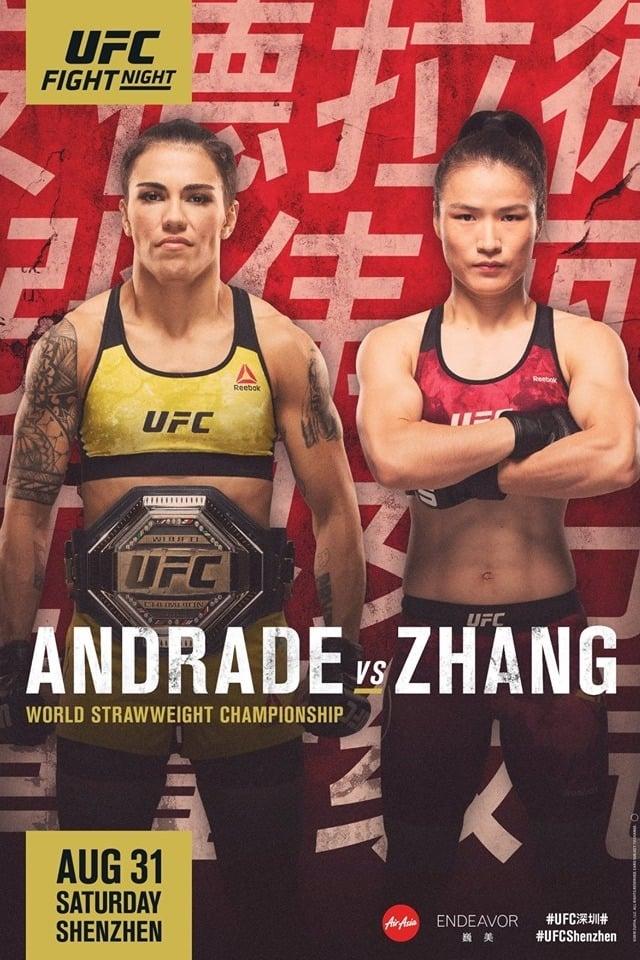 UFC Fight Night 157: Andrade vs. Zhang