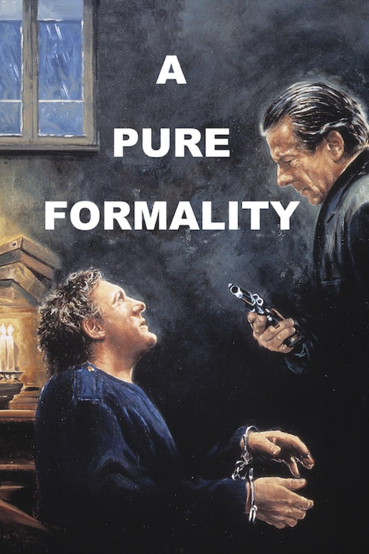 Pura formalidad