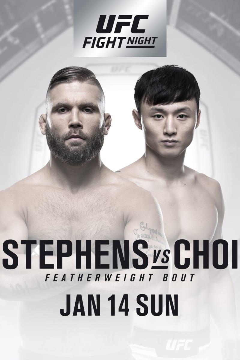 UFC Fight Night 124: Stephens vs. Choi