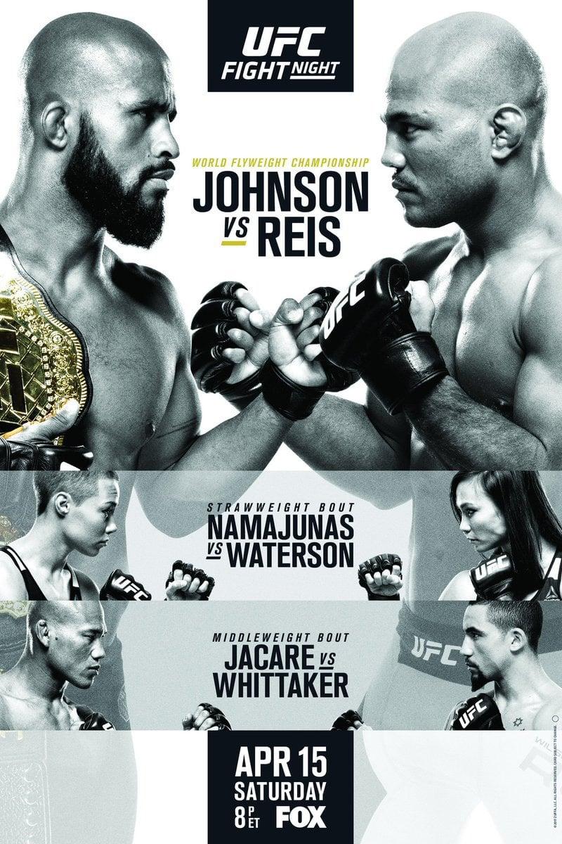 UFC on Fox 24: Johnson vs. Reis