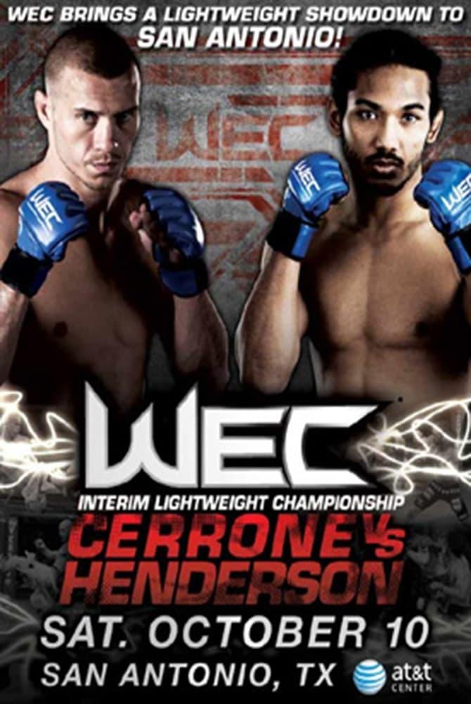 WEC 43: Cerrone vs. Henderson