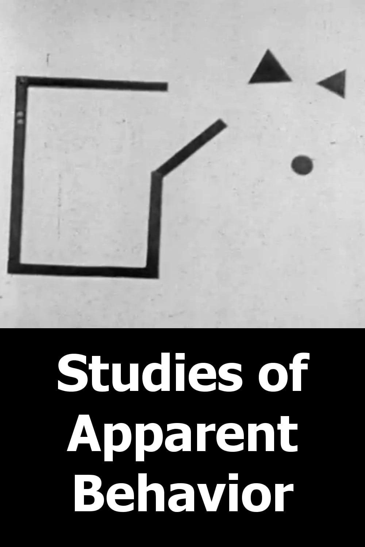 Studies of Apparent Behavior
