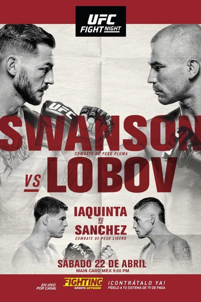 UFC Fight Night 108: Swanson vs. Lobov