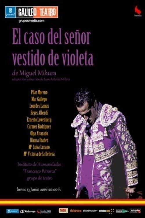 El caso del señor vestido de violeta