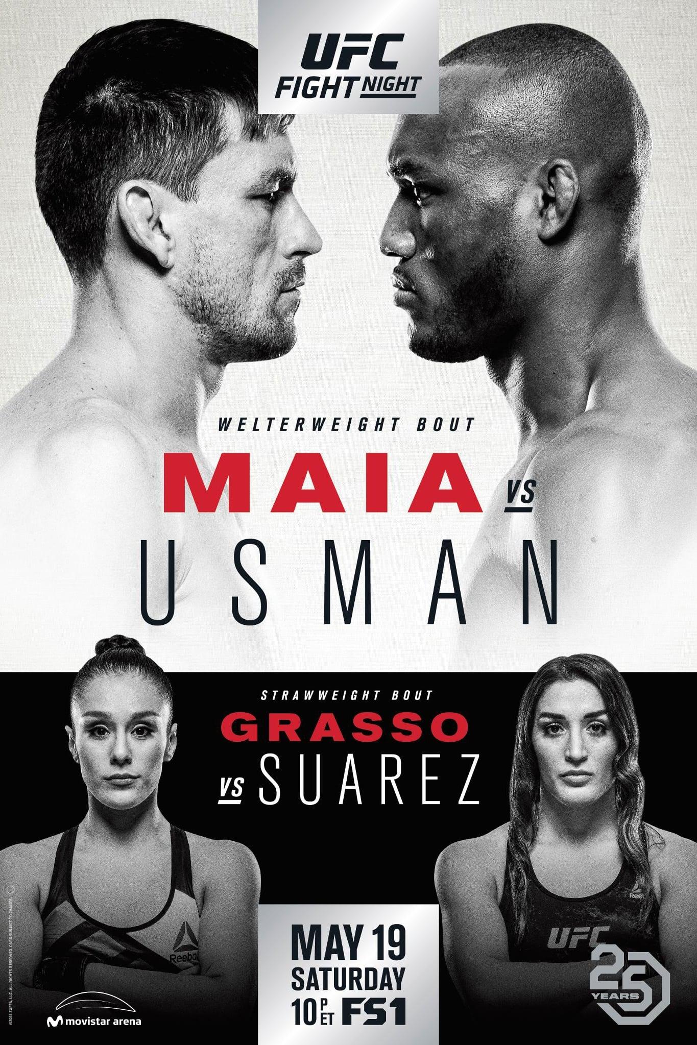UFC Fight Night 129: Maia vs. Usman