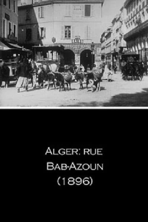 Alger: rue Bab-Azoun