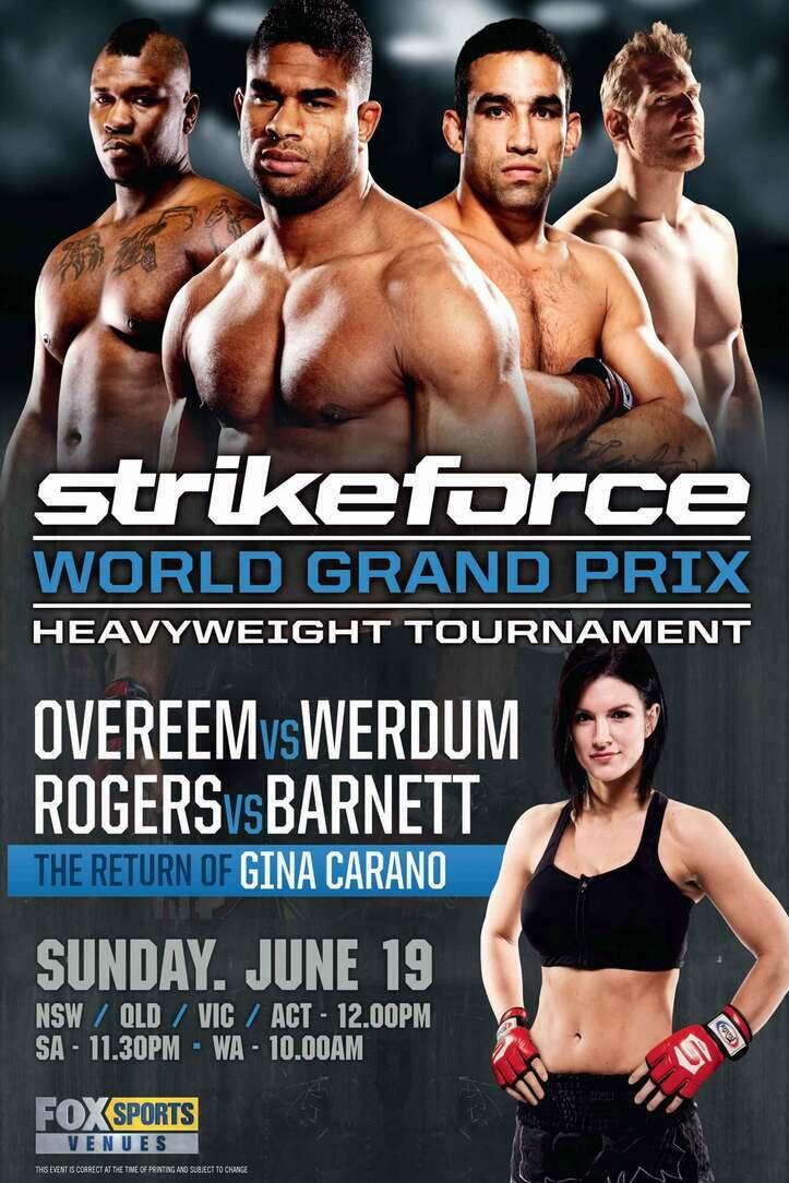 Strikeforce: Overeem vs. Werdum