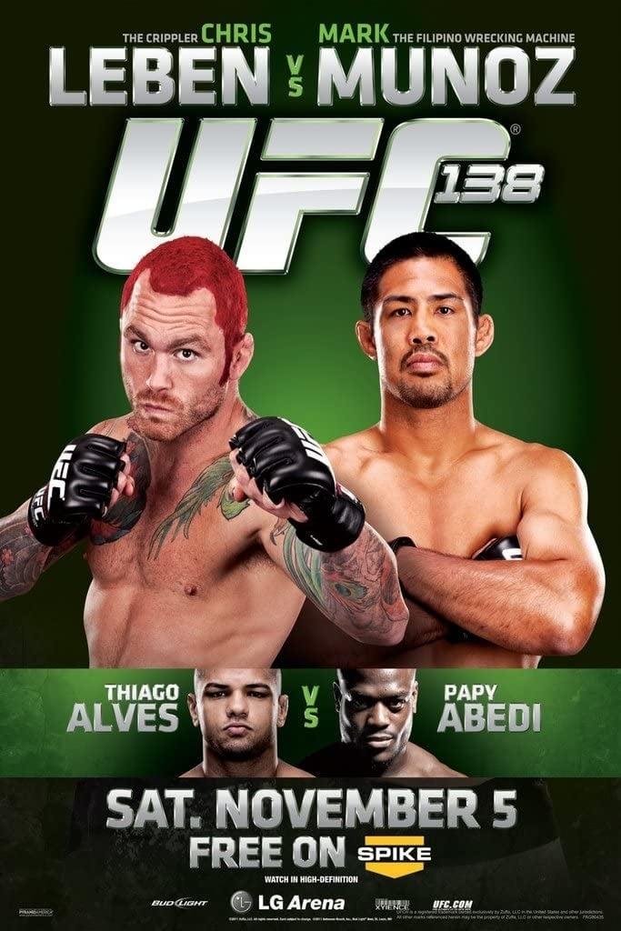 UFC 138: Leben vs. Muñoz