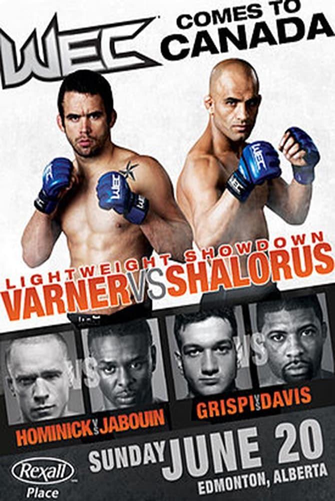 WEC 49: Varner vs. Shalorus
