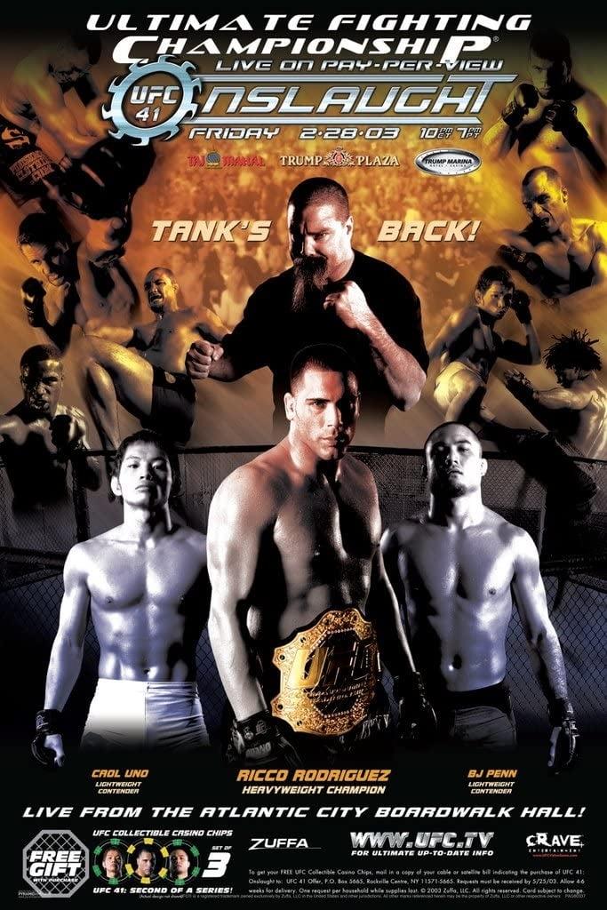 UFC 41: Onslaught