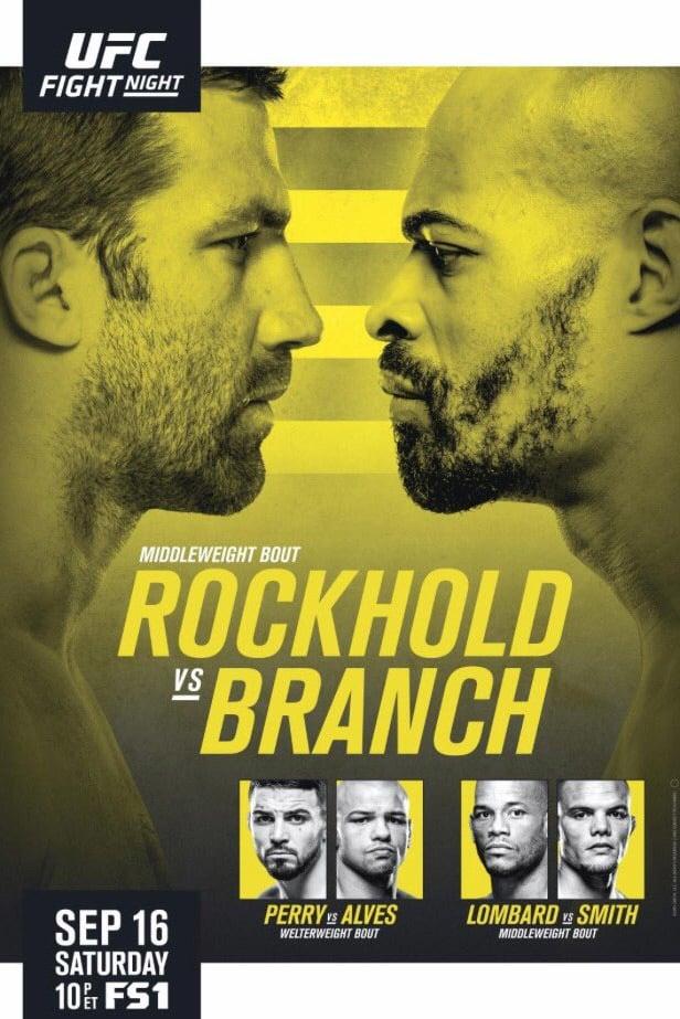 UFC Fight Night 116: Rockhold vs. Branch