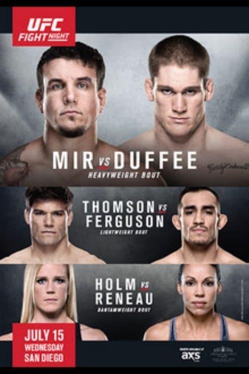 UFC Fight Night 71: Mir vs. Duffee