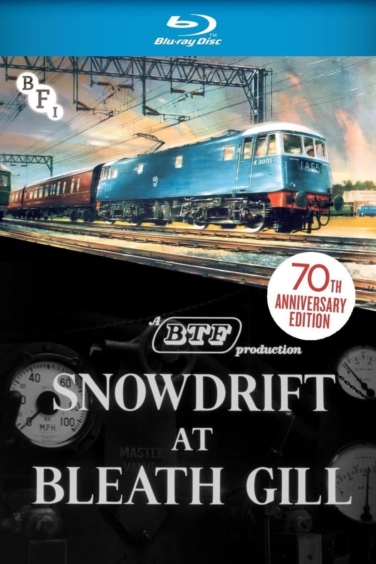 Snowdrift at Bleath Gill